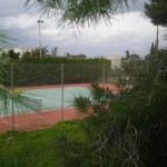 TENNIS COURT VIEW FROM RELAXING PLACE